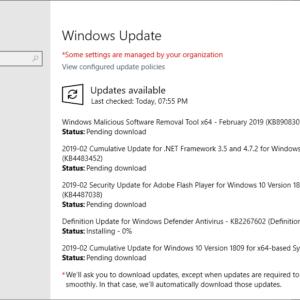 microsoft windows security updates 2019 february