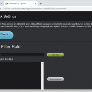 smartadblock filters