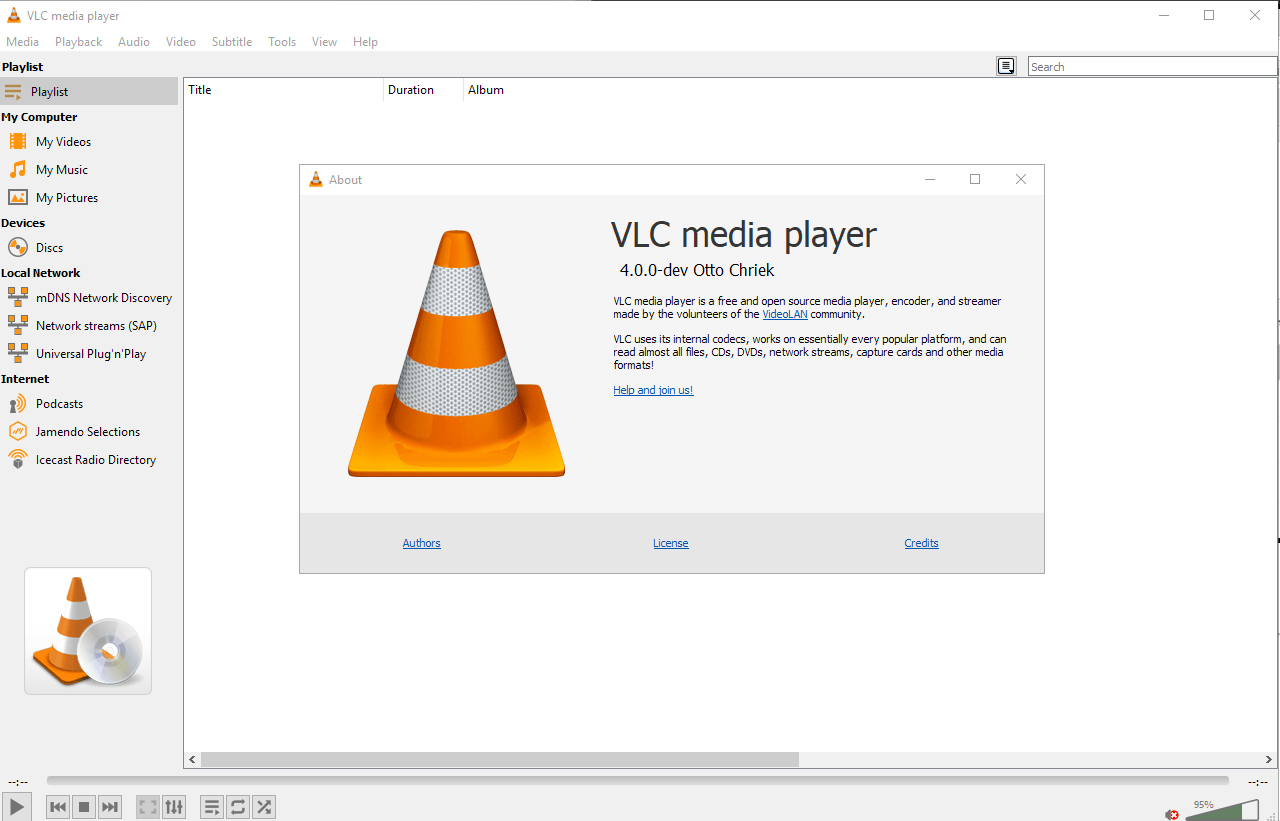 A preview of VLC Media Player 4.0