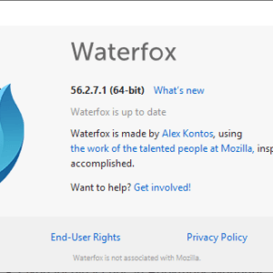 waterfox 56.2.7