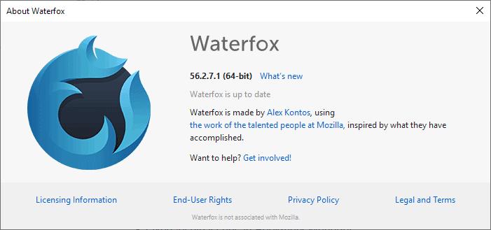 waterfox 56.2.7