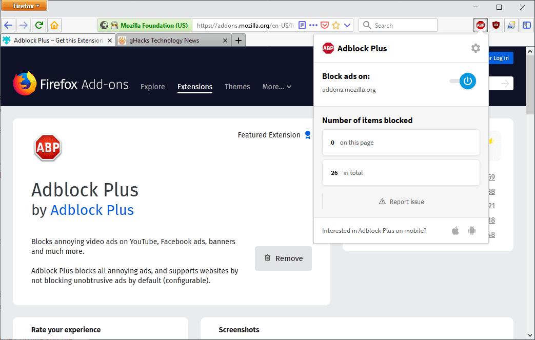 adblock plus improvements