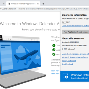 application guard extension firefox chrome