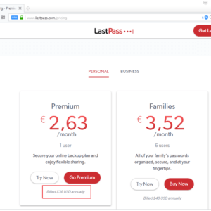 lastpass price increase