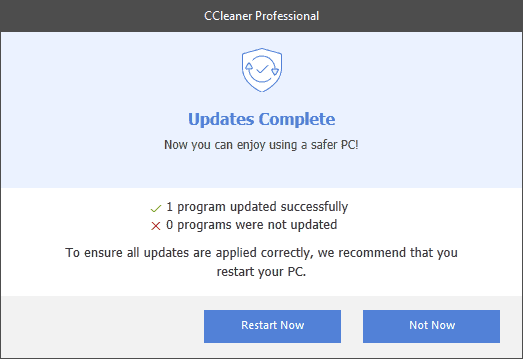 How good is CCleaner Professional's new Software Updater?