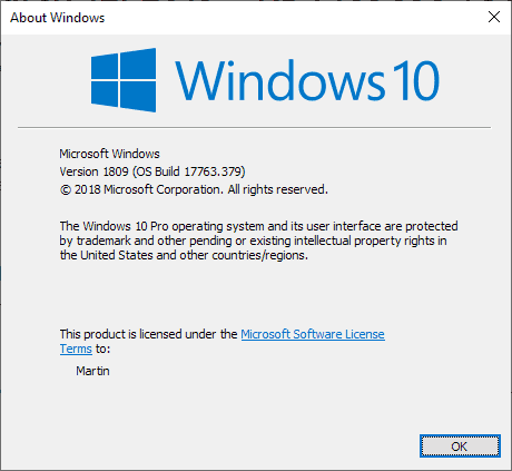 Windows 10 version 1809 is ready for broad deployment
