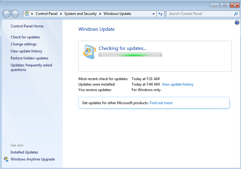 windows 7 update kb4493132