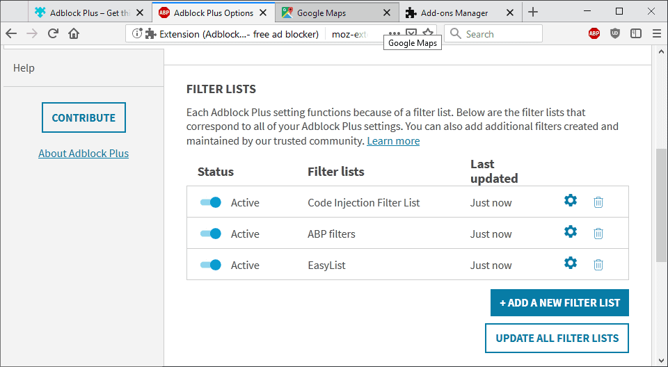 Adblock Plus filter exploit to run arbitrary code discovered