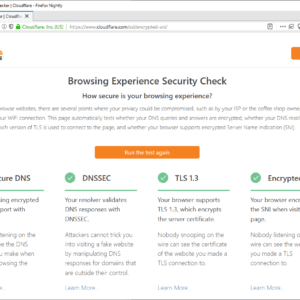 browsing experience security check