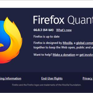firefox 66.0.3