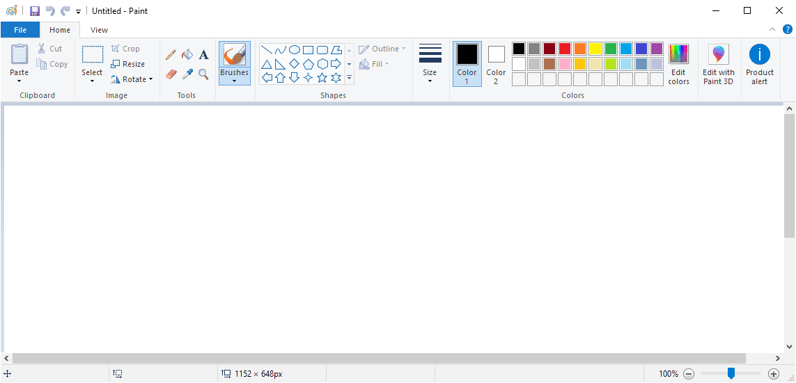 It looks as if Microsoft Paint is not going anywhere anytime soon