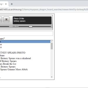 myspace music archive