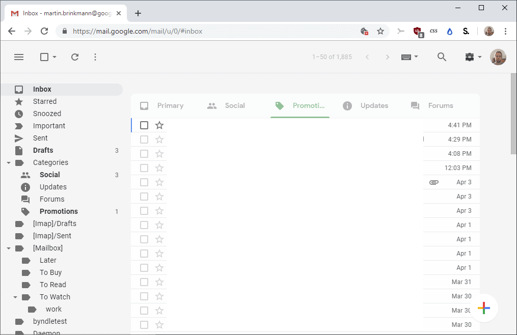 Simplify Gmail for Google Chrome - gHacks Tech News
