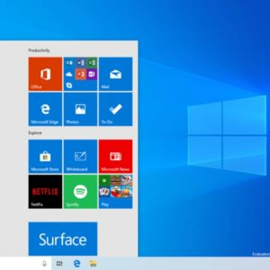 windows 10 start menu 19h1