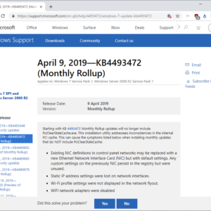 windows 7 8.1 server issues update