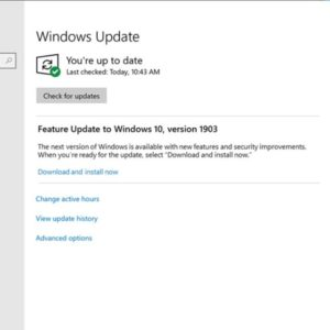 windows update feature updates changes