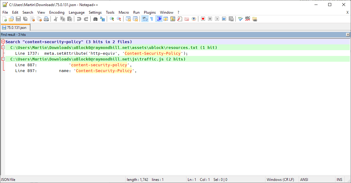 firefox add-ons csp issue