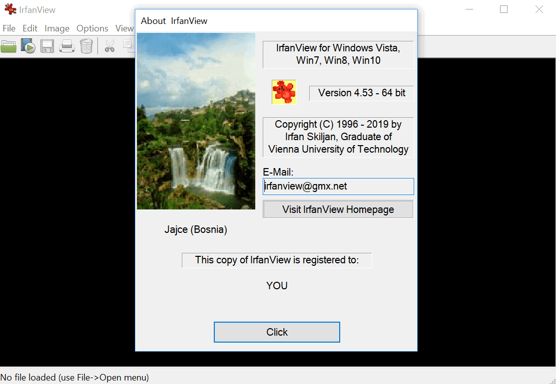IrfanView 4.53 Image Viewer released