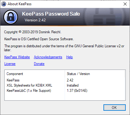KeePass 2 42 Password Manager is out - gHacks Tech News