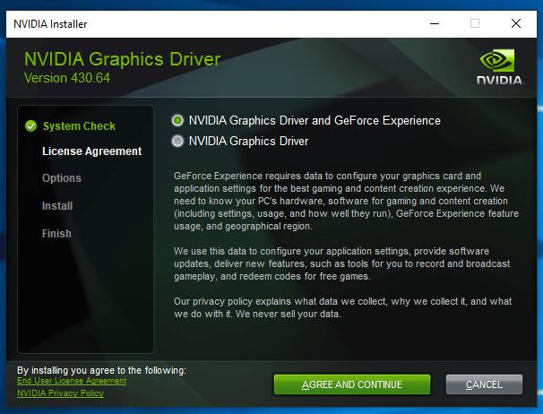 nvidia driver 430.64