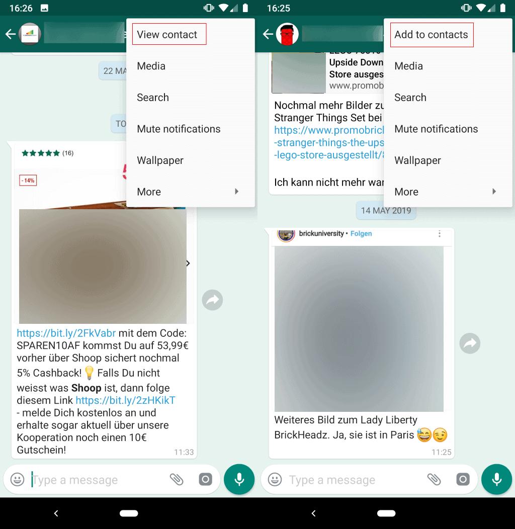 whatsapp broadcast receive fix