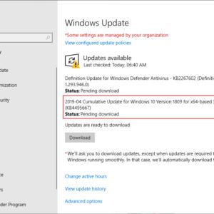 windows 10 1809 bug asian languages