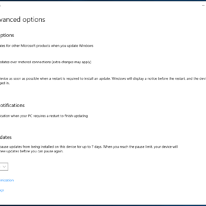 windows 10 903 no update deferral