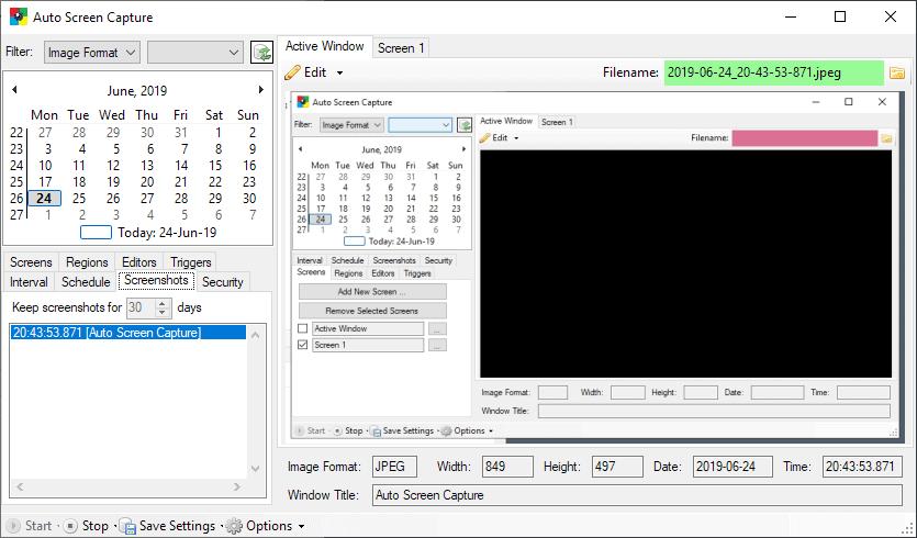 auto screen capture windows