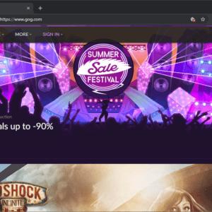 gog summer sale festival 2019