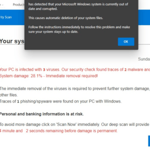 pc infected apps windows 10