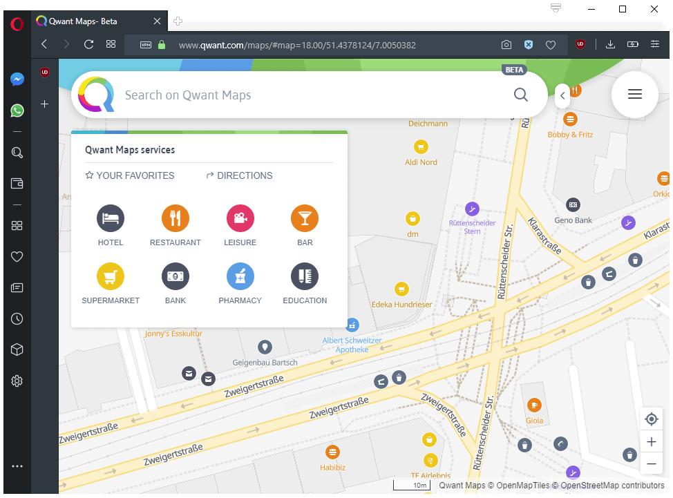 Qwant Maps: open source Google Maps alternative launches