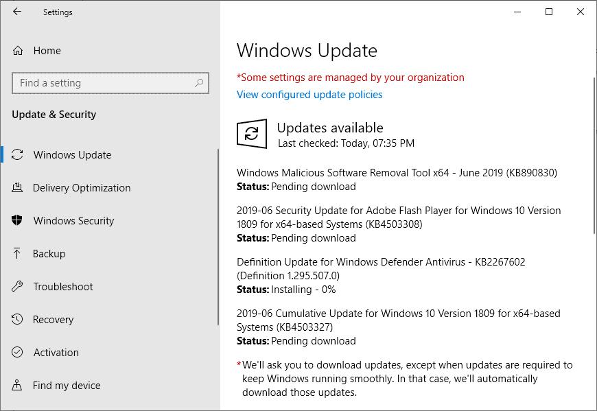windows security updates june 2019