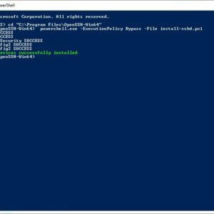 How to set up an SFTP server in Windows using OpenSSH