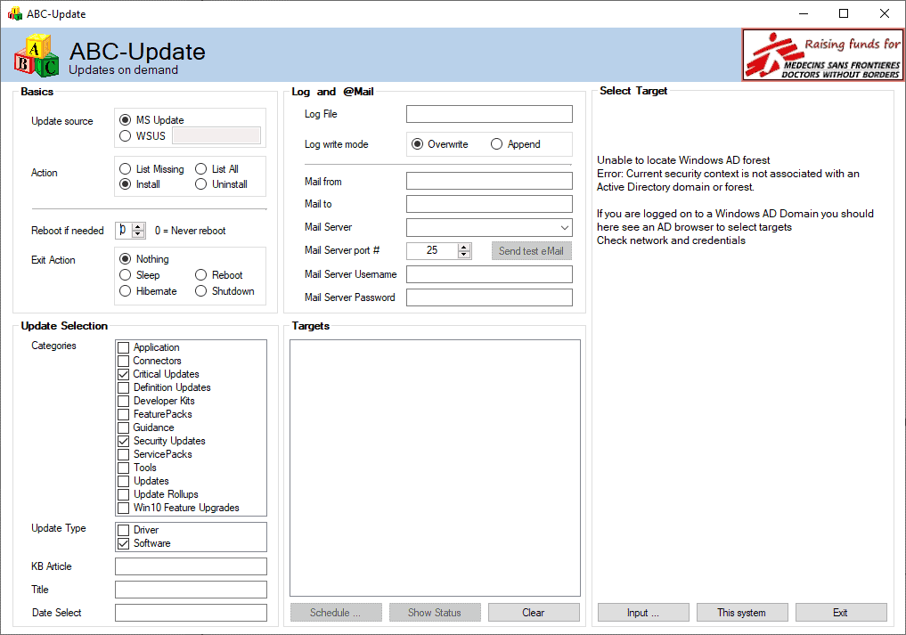 abc-update windows update management