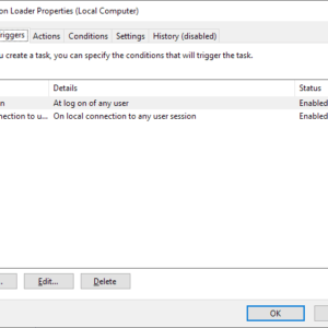 disable calibration loader