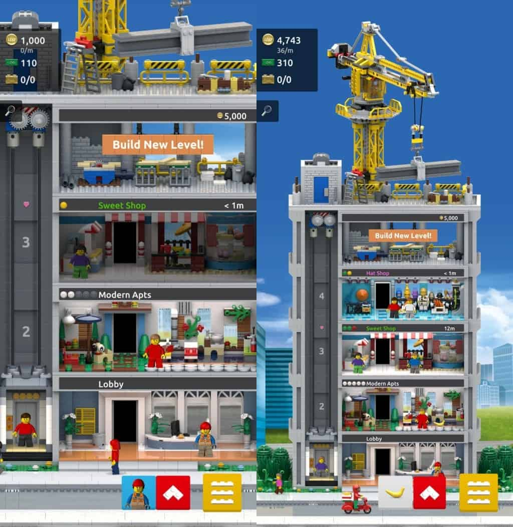 lego towers