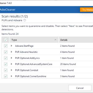 Malwarebytes releases AdwCleaner 7 4 featuring preinstalled