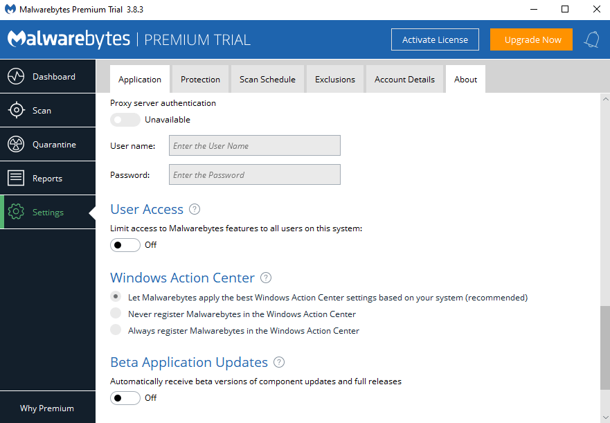 malwarebytes error windows defender