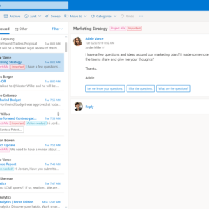 outlook.com new interface