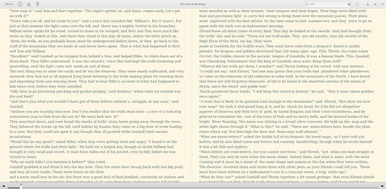 Bookworm 2-page view