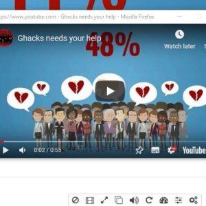 Enhancer for YouTube detach video player