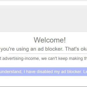 How to block Blockadblock manually in Ublock Origin
