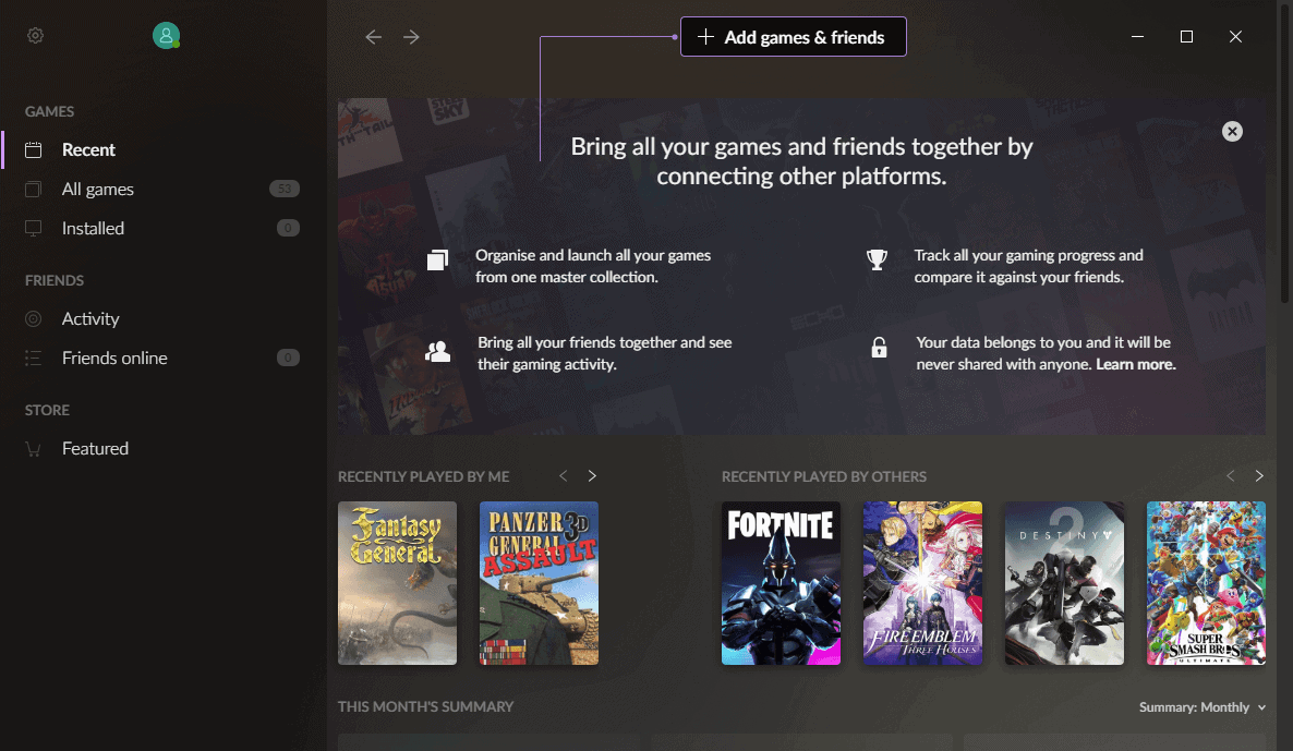 First Look at GOG Galaxy 2.0 gaming client
