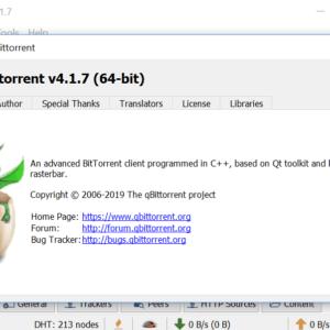 qbittorrent 4.1.7