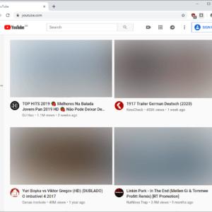 youtube-new design large thumbnails