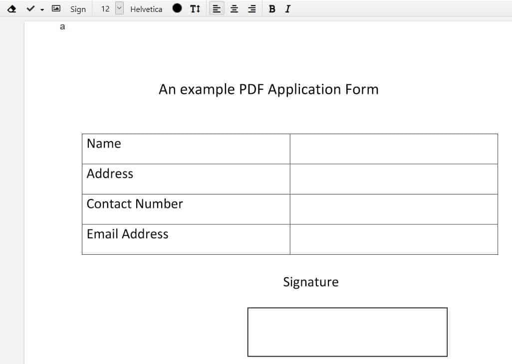 Edited PDF DocHub