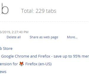 How to import tabs from Chrome to Firefox and vice versa 2