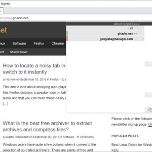 adblocker-firefox manifest v3 extensions