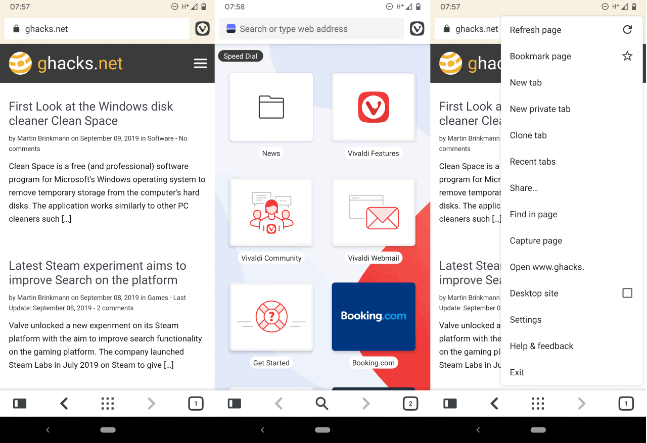 Vivaldi releases Vivaldi mobile browser for Android