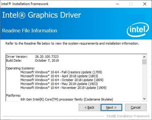 Intel Graphics Drivers for Windows 10 1909 released and here's what's new